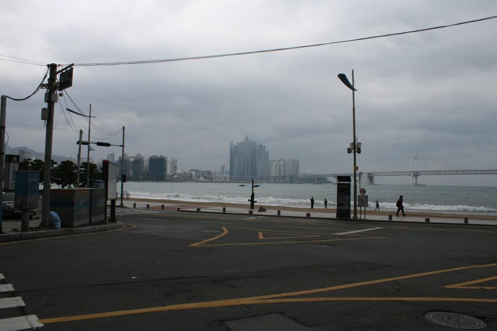Busan coast